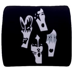 Kiss Band Logo Back Support Cushion by Celenk