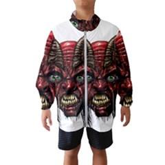 Krampus Devil Face Wind Breaker (kids)