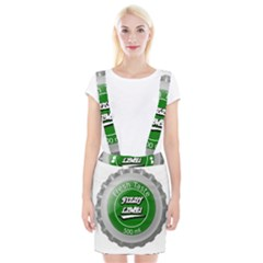 Fresh Taste Fizzy Lime Bottle Cap Braces Suspender Skirt