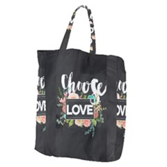 Love Giant Grocery Zipper Tote by 8fugoso