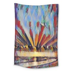 3abstractionism Large Tapestry by 8fugoso