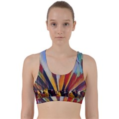 3abstractionism Back Weave Sports Bra by 8fugoso