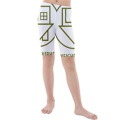 The Neighbourhood Logo Kids  Mid Length Swim Shorts