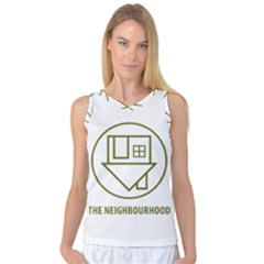 The Neighbourhood Logo Women s Basketball Tank Top by Celenk