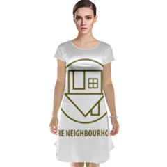 The Neighbourhood Logo Cap Sleeve Nightdress by Celenk
