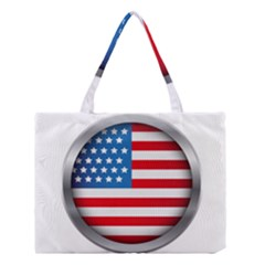 United Of America Usa Flag Medium Tote Bag by Celenk
