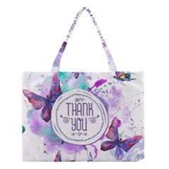 Thank You Medium Tote Bag by Celenk