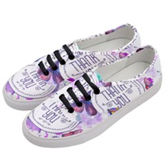 Thank You Women s Classic Low Top Sneakers by Celenk
