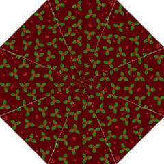 Christmas Pattern Straight Umbrellas by Valentinaart