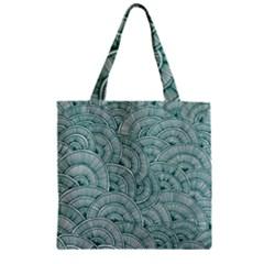 Design Art Wesley Fontes Zipper Grocery Tote Bag by wesleystores