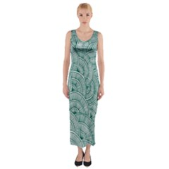 Design Art Wesley Fontes Fitted Maxi Dress by wesleystores