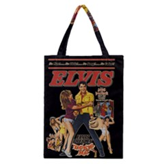 Elvis Presley Classic Tote Bag by Valentinaart