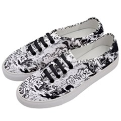 Graffiti Women s Classic Low Top Sneakers by Valentinaart