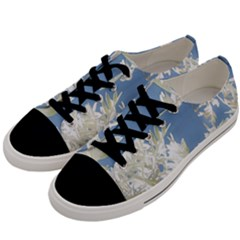 Nature Pattern Men s Low Top Canvas Sneakers by dflcprintsclothing