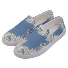 Nature Pattern Men s Canvas Slip Ons by dflcprintsclothing
