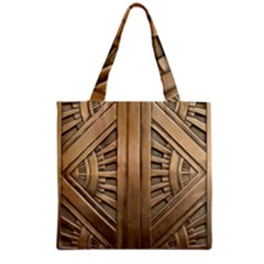 Art Deco Gold Door Grocery Tote Bag by 8fugoso