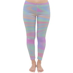 Holographic Design Classic Winter Leggings by tarastyle