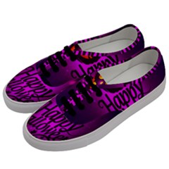 Happy Ghost Halloween Women s Classic Low Top Sneakers by Alisyart