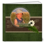 Camping - Vacation - Fishing Hunting Adventure Father 8x8 deluxe book - 8x8 Deluxe Photo Book (20 pages)