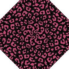 Skin5 Black Marble & Pink Denim Golf Umbrellas by trendistuff