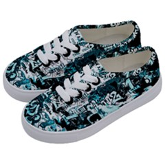 Graffiti Kids  Classic Low Top Sneakers by ValentinaDesign