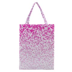 Halftone Dot Background Pattern Classic Tote Bag by Celenk