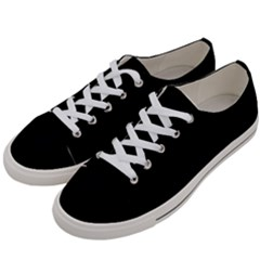 Black Gothic Women s Low Top Canvas Sneakers by Costasonlineshop