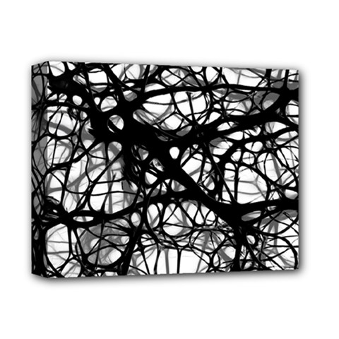 Neurons Brain Cells Brain Structure Deluxe Canvas 14  X 11  by Celenk