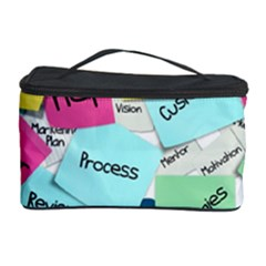 Stickies Post It List Business Cosmetic Storage Case by Celenk