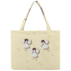 Christmas Angels  Mini Tote Bag by Valentinaart