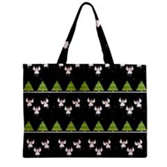 Christmas Angels  Zipper Mini Tote Bag by Valentinaart