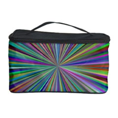 Burst Colors Ray Speed Vortex Cosmetic Storage Case by Celenk