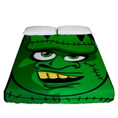 Buy Me A Coffee Halloween Fitted Sheet (california King Size)