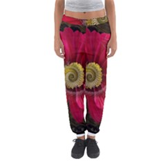 Fantasy Flower Fractal Blossom Women s Jogger Sweatpants by Celenk