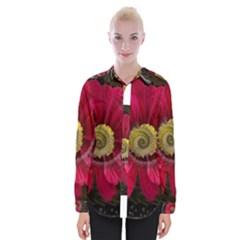 Fantasy Flower Fractal Blossom Womens Long Sleeve Shirt