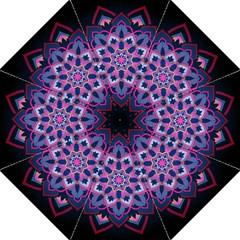 Mandala Circular Pattern Straight Umbrellas by Celenk