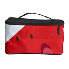 Watermelon Red Network Fruit Juicy Cosmetic Storage Case by Celenk