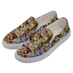 Abstract Background Wallpaper 1 Men s Canvas Slip Ons by Costasonlineshop