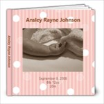 Ansley first photo book - 8x8 Photo Book (20 pages)