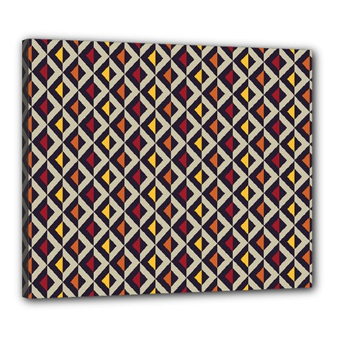 Native American Pattern 5 Canvas 24  X 20  by Cveti