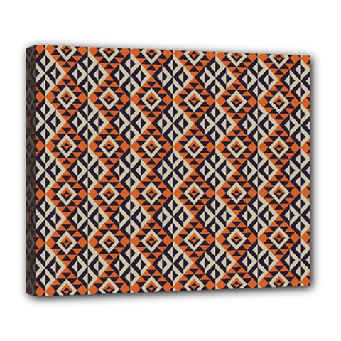 Native American Pattern 11 Deluxe Canvas 24  X 20   by Cveti