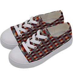 Native American 13 Kids  Low Top Canvas Sneakers by Cveti