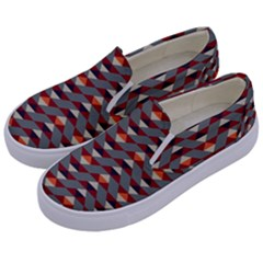 Native American 13 Kids  Canvas Slip Ons by Cveti