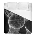 Space Universe Earth Rocket Duvet Cover (Full/ Double Size)
