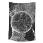 Space Universe Earth Rocket Large Tapestry