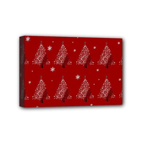Christmas Tree   Pattern Mini Canvas 6  X 4  by Valentinaart