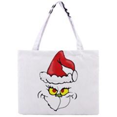 Grinch Mini Tote Bag by Valentinaart