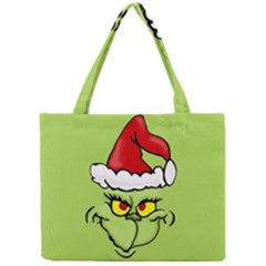 Grinch Mini Tote Bag by Valentinaart