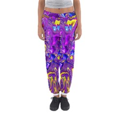 Melted Fractal 1a Women s Jogger Sweatpants by MoreColorsinLife