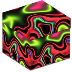 Vibrant Fantasy 1b Storage Stool 12   by MoreColorsinLife